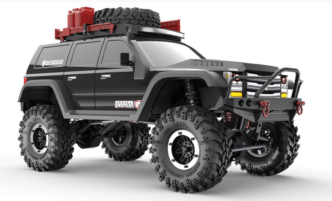 RC Crawler Gen7 PRO - BLACK EDITION
