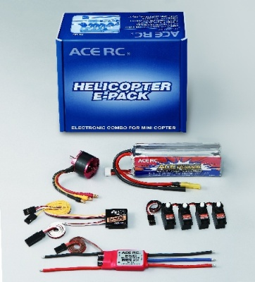 E-Pack for Mini EP Heli Set für 450 Helis