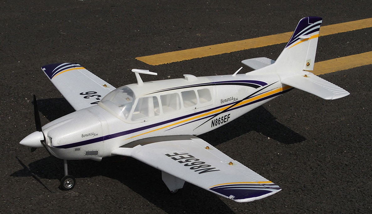 ST Beechcraft Bonanza A36 1280mm brushless PNP