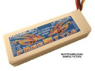ProSelect FreeStyle 25C/50C 5S1P 18,5V 4000 mAh